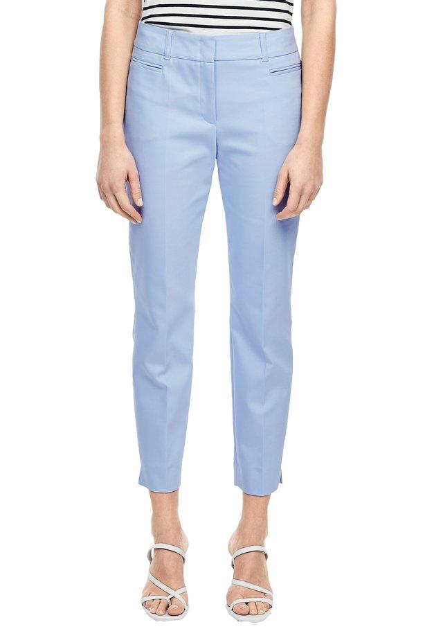 SLIM FIT: SLIM ANKLE LEG-HOSE - Chino - sky blue