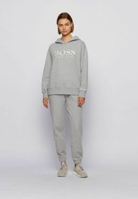 BOSS - Tracksuit bottoms - silver - 1