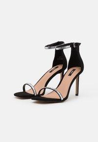 ONLY SHOES - ONLALYX LIFE STONE  - Sandaler med høye hæler - black - 1