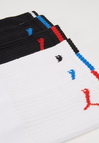 Puma - PUMA SPORT CREW STRIPE 6P - Chaussettes de sport - black/white - 3
