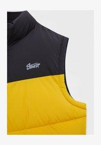 PULL&BEAR - Waistcoat - yellow - 5