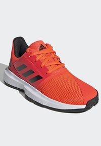 adidas Performance - COURTJAM - Clay court tennis shoes - orange - 1