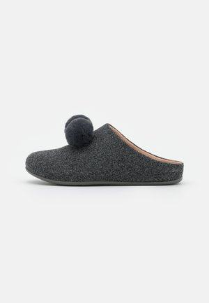 CHRISSIE POM POM  - Pantoffels - pewter grey