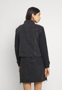 Levi's® - EX BF HYBRID TRUCKER - Giacca di jeans - dark spot - 2