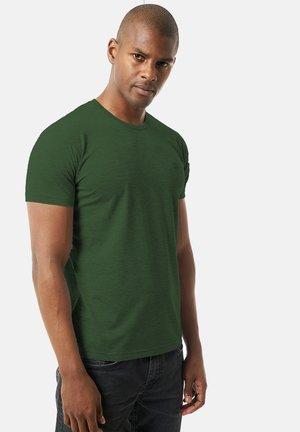 Basic T-shirt - dunkelgrã¼n