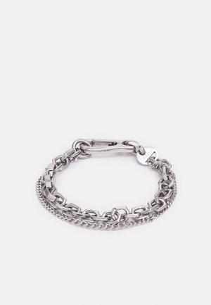 UNION UNISEX - Bracelet - silver-coloured