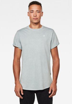 LASH ROUND SHORT SLEEVE - Print T-shirt - correct grey gd