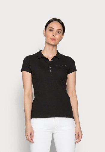 SLIM CRYSTAL - Poloskjorter - black