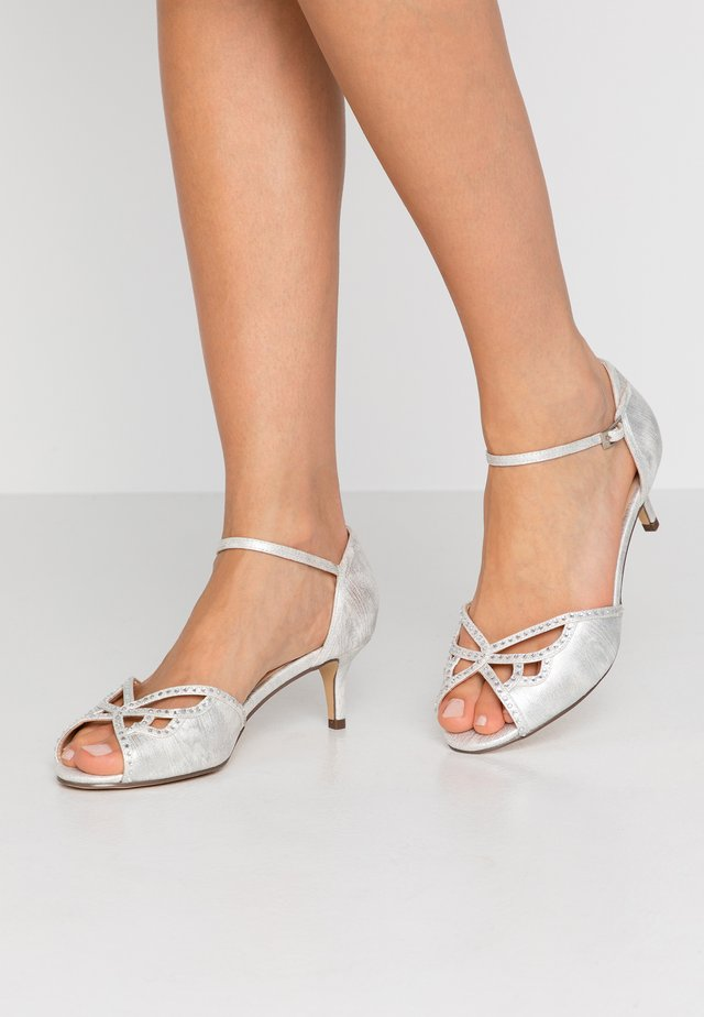WIDE FIT HISAKI - Sandals - silver