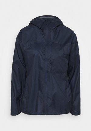 KENTO LIGHT HOODED JACKET WOMEN - Hardshell jacket - marine