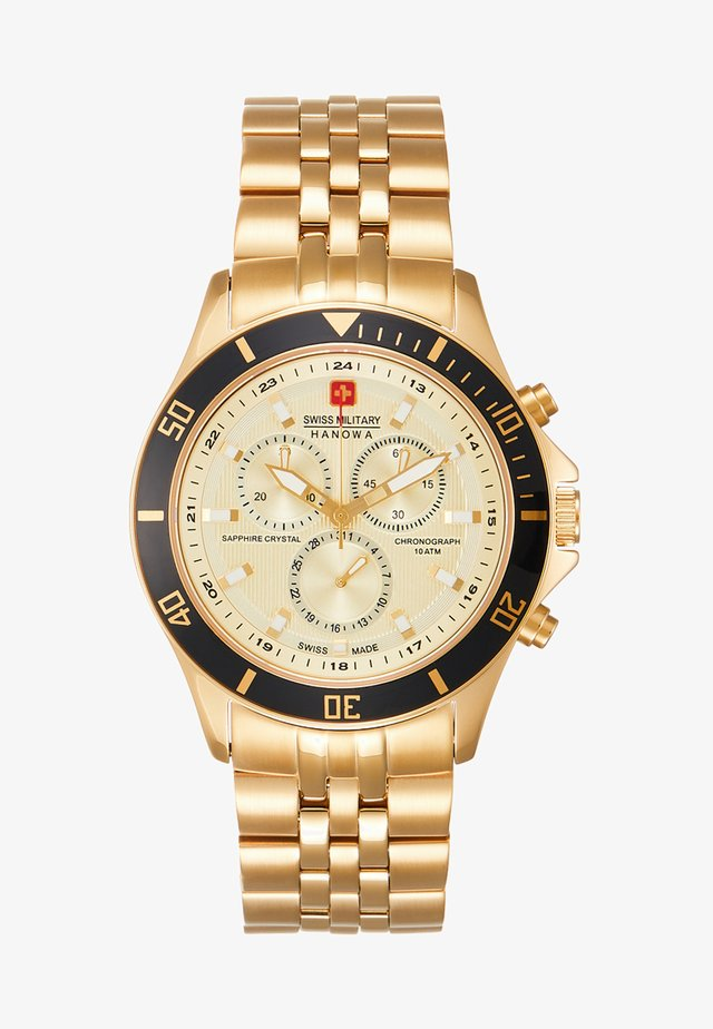 FLAGSHIP - Chronograph watch - gold-coloured
