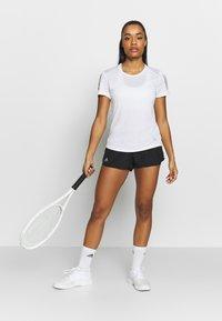 adidas Performance - CLUB - Sports shorts - black/silver/white - 1
