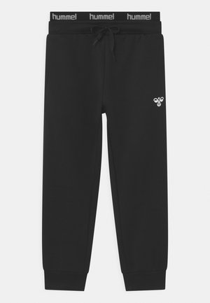 NILAR UNISEX - Tracksuit bottoms - black