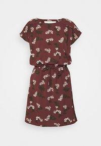 Vero Moda - VMSASHA BALI SHORT DRESS - Denní šaty - sable/nellie - 0