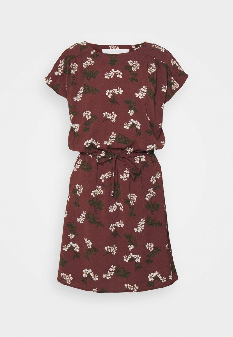 Vero Moda - VMSASHA BALI SHORT DRESS - Denní šaty - sable/nellie