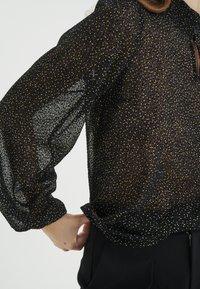 InWear - Blouse - black minimal dot - 5