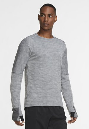 SPHERE ELEMENT CREW 3.0 - Sweat polaire - iron grey heather grey fog