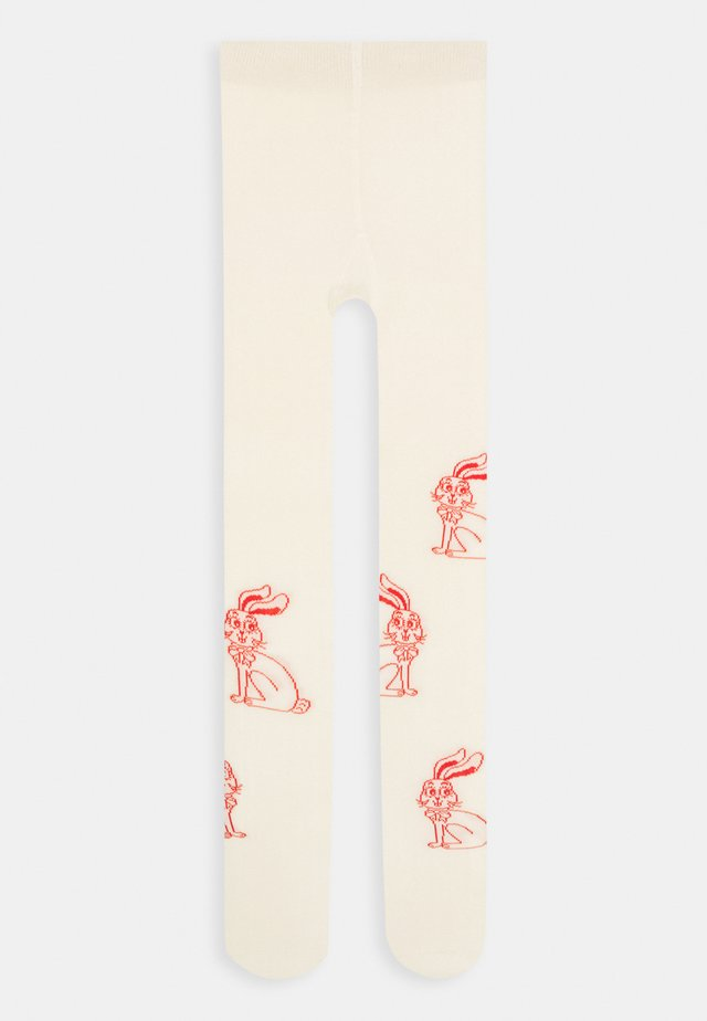 RABBIT UNISEX - Tights - offwhite
