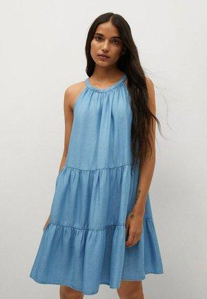 OKA-H - Denim dress - azul claro