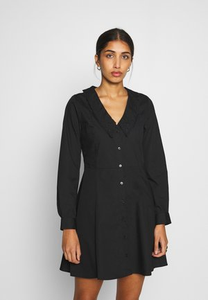 NOOMI DRESS - Skjortekjole - black