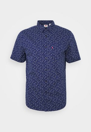 Košile - sphalerite blue