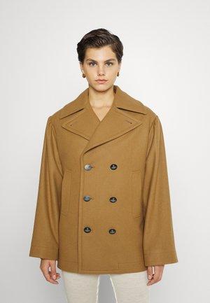 PEACOAT - Short coat - camel