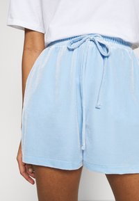 Pieces - Shorts - blue bell - 4