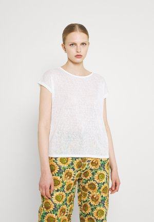 ONLCELINE MIX - Print T-shirt - cloud dancer