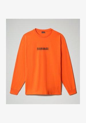 S-BOX - Long sleeved top - orangeade