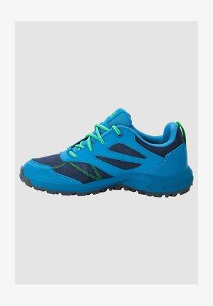 WOODLAND TEXAPORE - Walking trainers - blue / gren