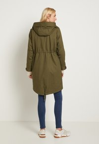 TOM TAILOR - AUTHENTIC WINTER - Parka - olive night green - 3