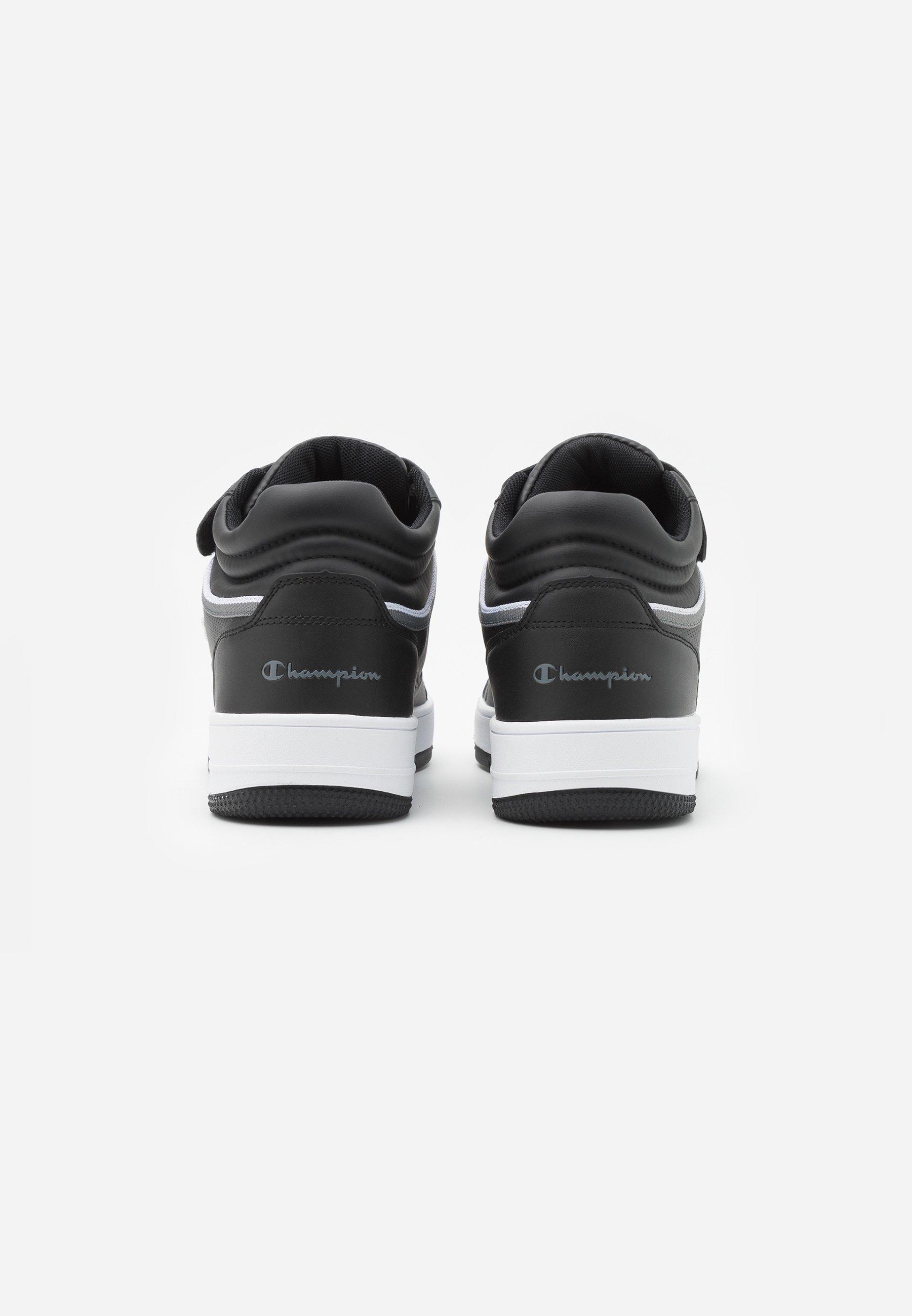Buen Servicio Calzado de hombre Champion MID CUT SHOE REBOUND VINTAGE Zapatillas de baloncesto new black GJb5DH