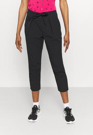 ANAMOSA - Spodnie materiałowe - black