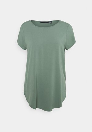 VMBECCA PLAIN - Camiseta básica - laurel wreath