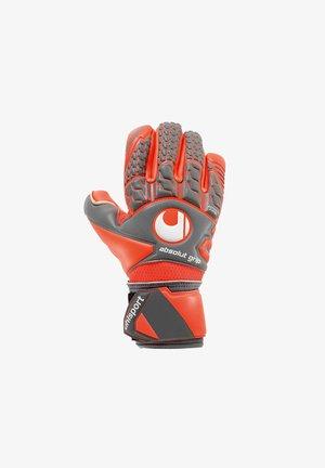 Goalkeeping gloves - grey red