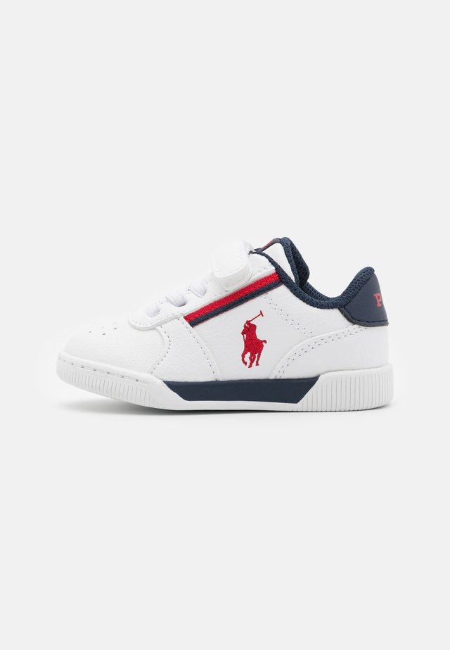 KEELIN  - Sneaker low - white/navy/red