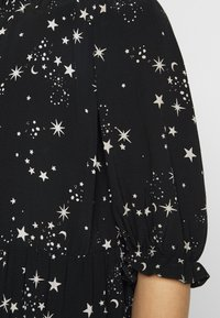 New Look Petite - PIECRUST PUFF STAR DRESS - Day dress - black - 5