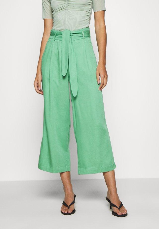 AVA PANTS UNI  - Trousers - neptune green