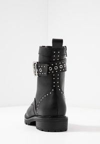 Even&Odd - Cowboy/biker ankle boot - black - 5