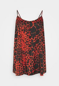 CAPSULE by Simply Be - STRAPPY CAMI - Bluser - black - 0