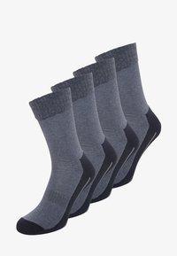4 PACK - Chaussettes de sport - navy