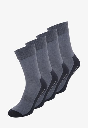 4 PACK - Sports socks - navy