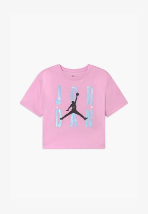 HIGHLIGHTS TEE UNISEX - Print T-shirt - light arctic pink