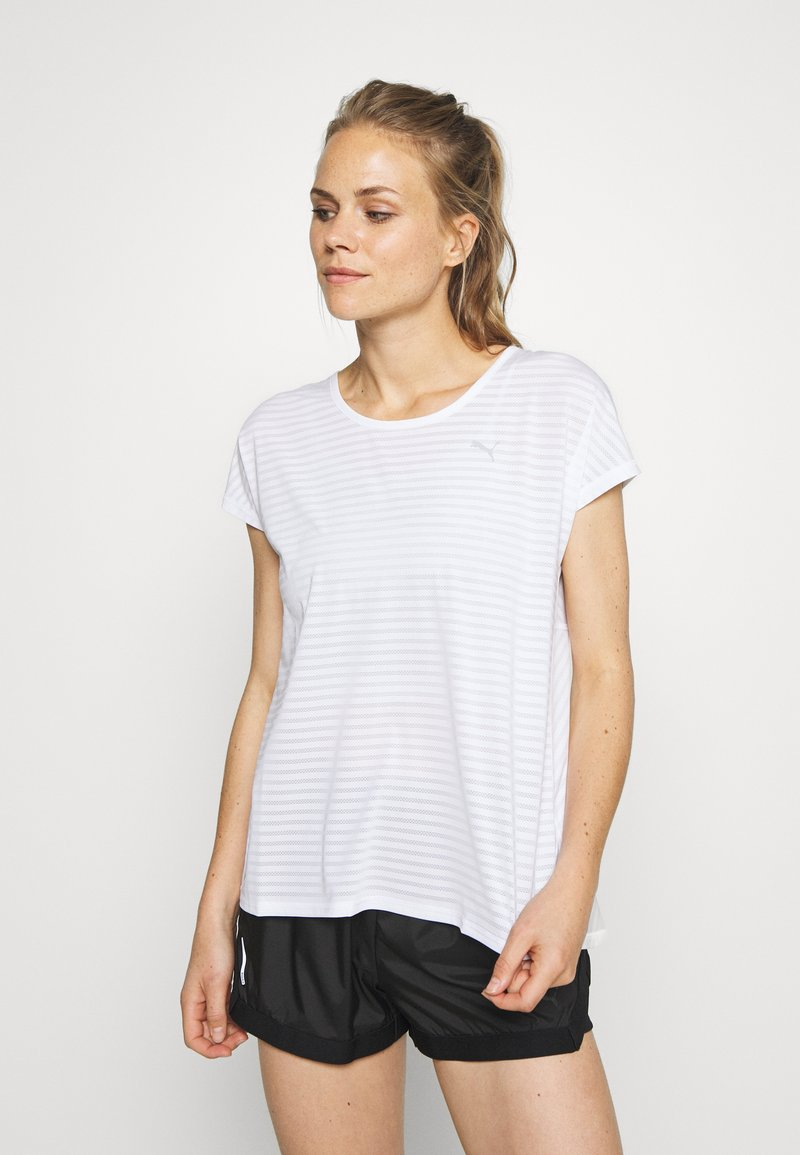 Puma - BE BOLD TEE - Print T-shirt - white