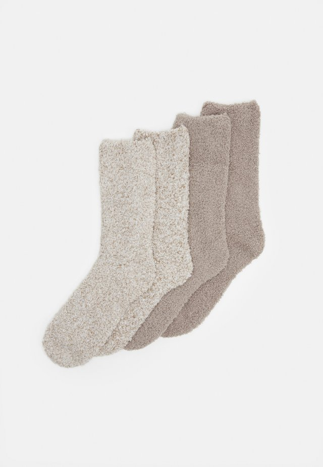 WOMEN FASHION SOCKS 4 PACK - Sokken - taupe