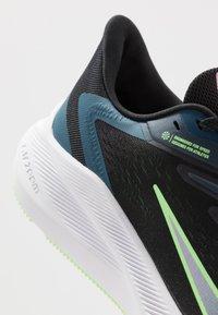 Nike Performance - ZOOM WINFLO  - Zapatillas de running neutras - black/vapor green/valerian blue - 7