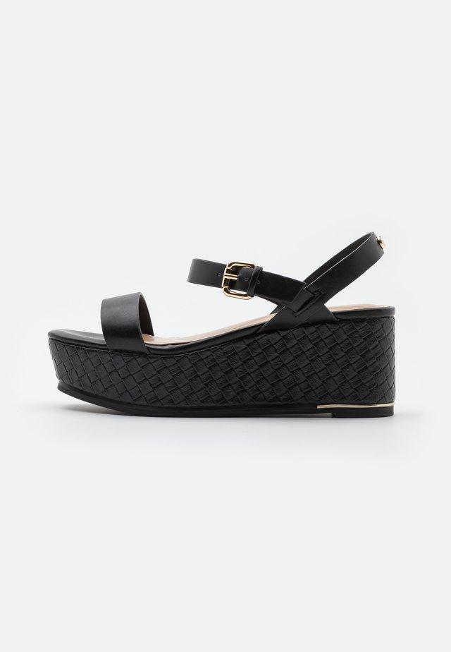 ELOINIEL - Sandály na platformě - black