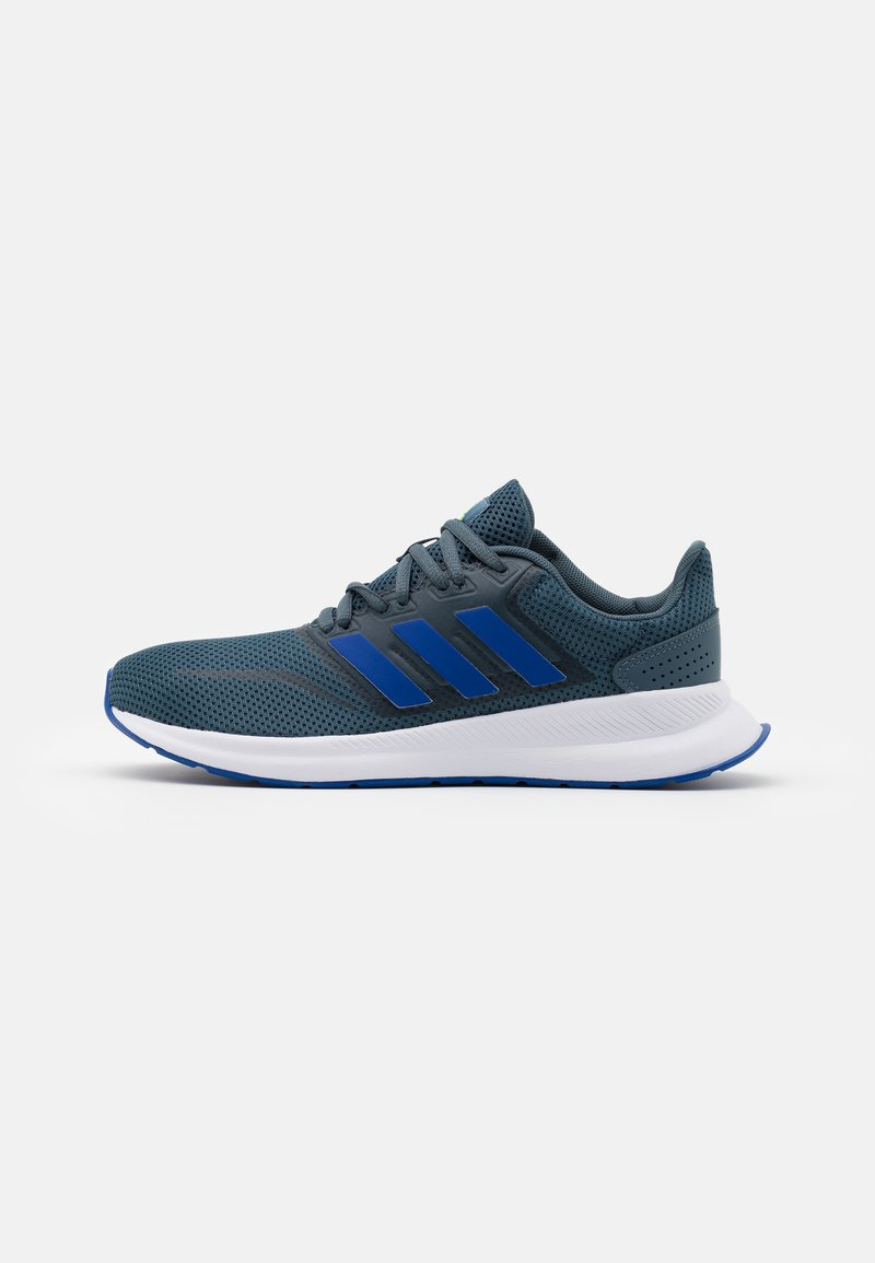 adidas Performance - RUNFALCON UNISEX - Neutral running shoes - legacy blue/team royal blue/signal green