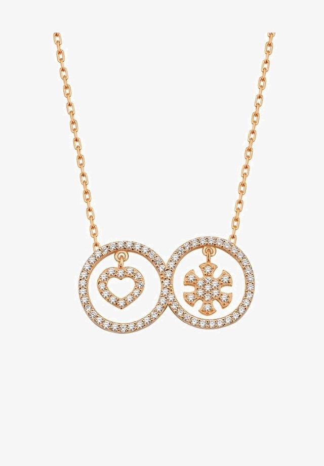 SCHNEEFLOCKE  - Necklace - rose