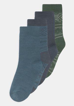 NMMWAK 4 PACK - Sokken - ombre blue